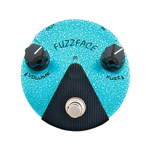 Dunlop Jimi Hendrix Fuzz Face Mini Turquoise Guitar Effects Pedal