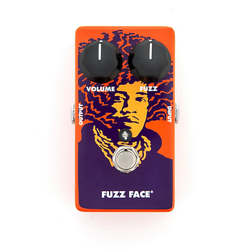 Dunlop Jimi Hendrix Limited Edition Fuzz Face 70th Anniversary Tribute Series