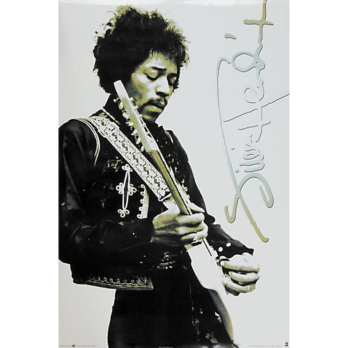 The Card Cafe Jimi Hendrix Poster