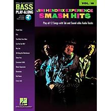 Hal Leonard Jimi Hendrix Smash Hits: Bass Play-Along Series, Volume 10 (Book/CD)