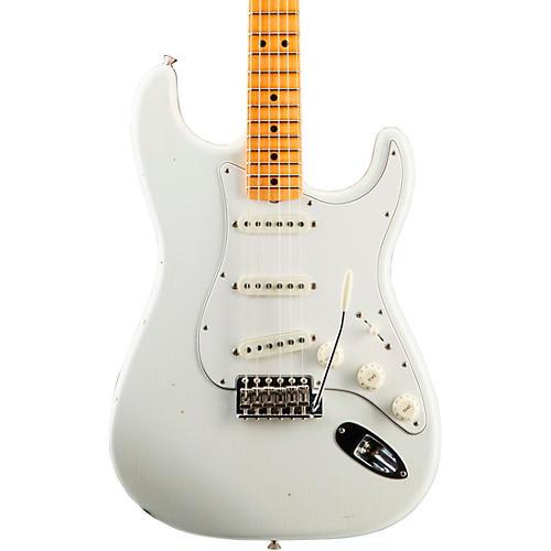 Fender Custom Shop Jimi Hendrix Voodoo Child Journeyman Relic Stratocaster Electric Guitar Olympic White