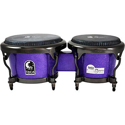 Toca Jimmie Morales Signature Series Purple Sparkle Bongos