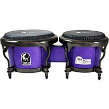Open BoxToca Jimmie Morales Signature Series Purple Sparkle Bongos