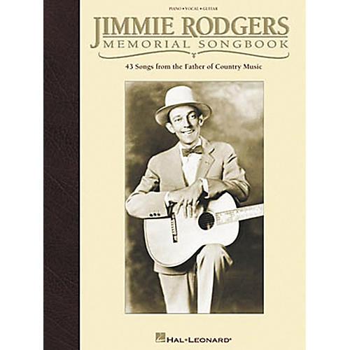 Hal Leonard Jimmie Rodgers Memorial Piano, Vocal, Guitar Songbook