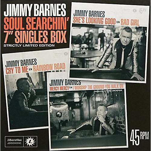 Alliance Jimmy Barnes - Soul Searchin: 7-inch Singles Box