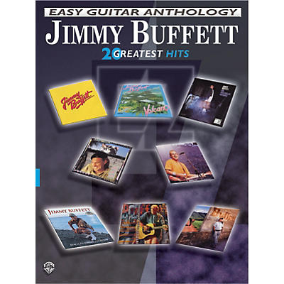 Alfred Jimmy Buffett Easy Guitar Anthology