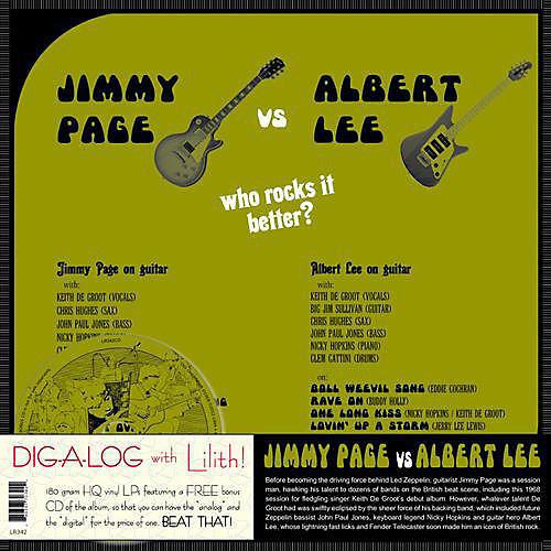 Alliance Jimmy Page - Jimmy Page vs. Albert Lee
