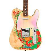 Jimmy Page Telecaster Electric Guitar Natural