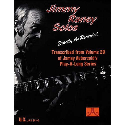 Jamey Aebersold Jimmy Raney Solos Book