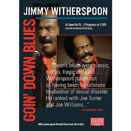 Hal Leonard Jimmy Witherspoon - Goin' Down Blues (Visions of Jazz Series) DVD Series DVD by Jimmy Witherspoon