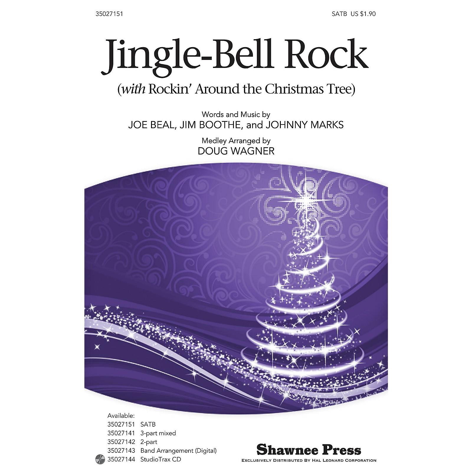 Hal Leonard Jingle-Bell Rock (with Rockin' Around the Christmas Tree) Studiotrax CD Arranged by Douglas Wagner