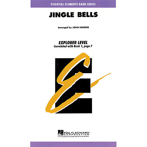 Hal Leonard Jingle Bells Concert Band Level 0.5 Arranged by John Higgins