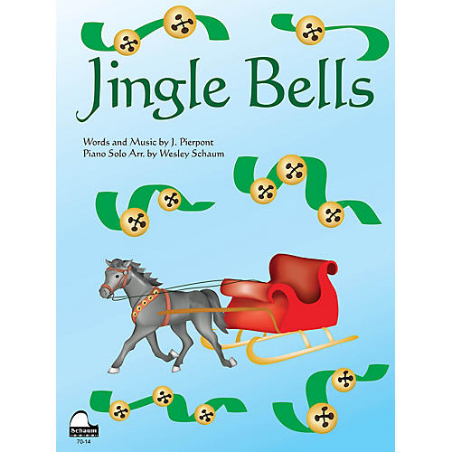 SCHAUM Jingle Bells Educational Piano Series Softcover