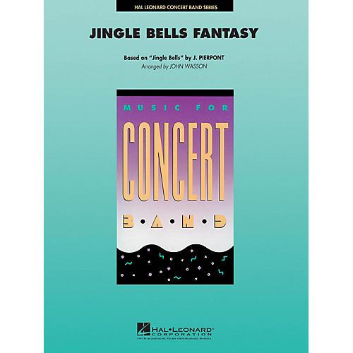 Hal Leonard Jingle Bells Fantasy Concert Band Level 4-5 Arranged by John Wasson