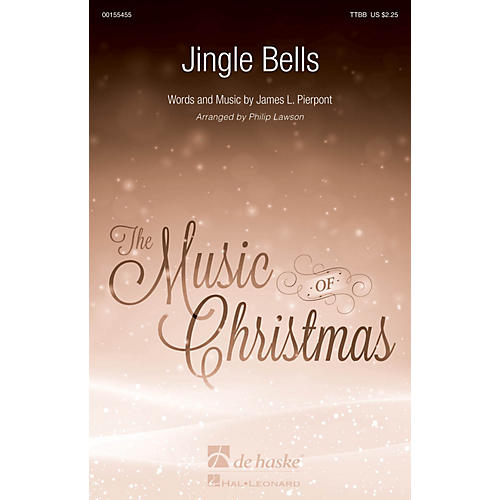 De Haske Music Jingle Bells TTBB arranged by Philip Lawson