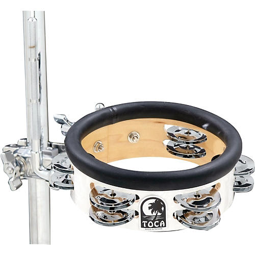 Toca Jingle-Hit Tambourine with Mount