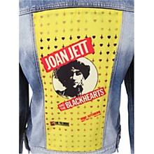 Dragonfly Clothing Joan Jett & The Blackhearts - The Fillmore - Spades & Clovers - Girls Denim Jacket