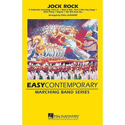 Hal Leonard Jock Rock Marching Band Level 2 Arranged by Paul Lavender