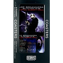 Iconic Concepts Joe Bonamassa 6 piece Coaster Set - Royal Albert Hall in Tin Box