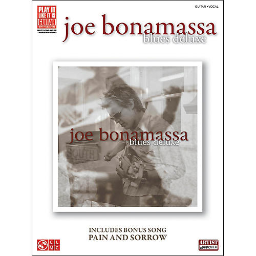 Hal Leonard Joe Bonamassa: Blues Deluxe Guitar Tab (Book)