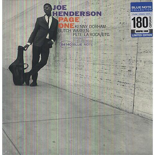 Alliance Joe Henderson - Page One