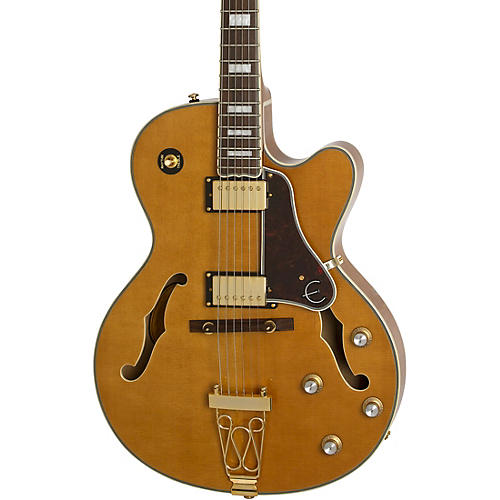 epiphone joe pass emperor ii pro electric guitar vintage natural musician 39 s friend. Black Bedroom Furniture Sets. Home Design Ideas
