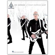Hal Leonard Joe Satriani - What Happens Next Guitar Recorded Version Songbook