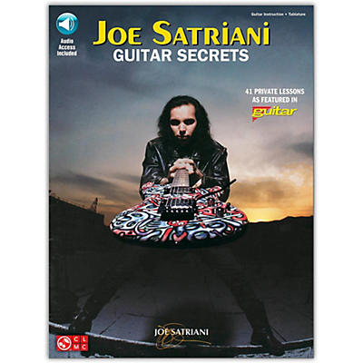 Hal Leonard Joe Satriani Guitar Secrets (Book/Online Audio)