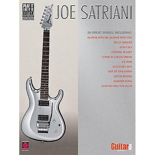 Cherry Lane Joe Satriani Guitar Tab Songbook