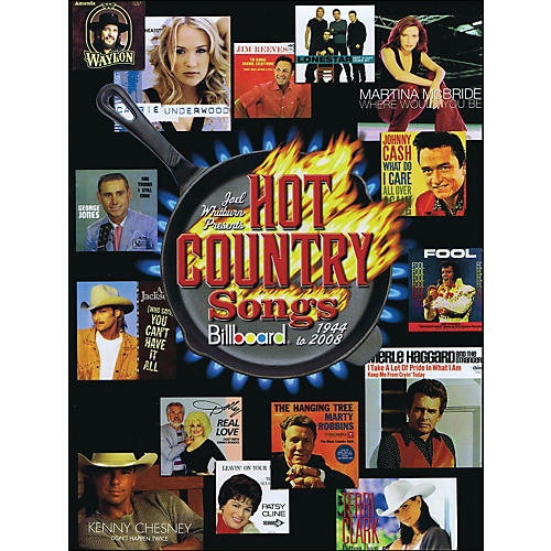 Hal Leonard Joel Whitburn Presents Hot Country Songs 1944 To 2008 Hard Cover Book