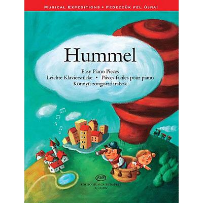 Editio Musica Budapest Johann Nepomuk Hummel - Easy Piano Pieces EMB Softcover by Johann Nepomuk Hummel Edited by Ágnes Lakos