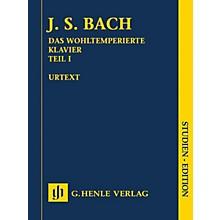 G. Henle Verlag Johann Sebastian Bach - The Well-Tempered Clavier, Part I BWV 846-869 Henle Study Score by Bach