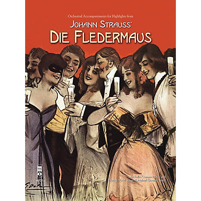 Music Minus One Johann Strauss - Highlights from Die Fledermaus Music Minus One Softcover with CD by Johann Strauss