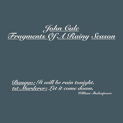 Alliance John Cale - Fragments Of A Rainy Season
