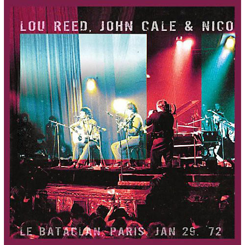 Alliance John Cale - Le Bataclan Paris Jan 29 72
