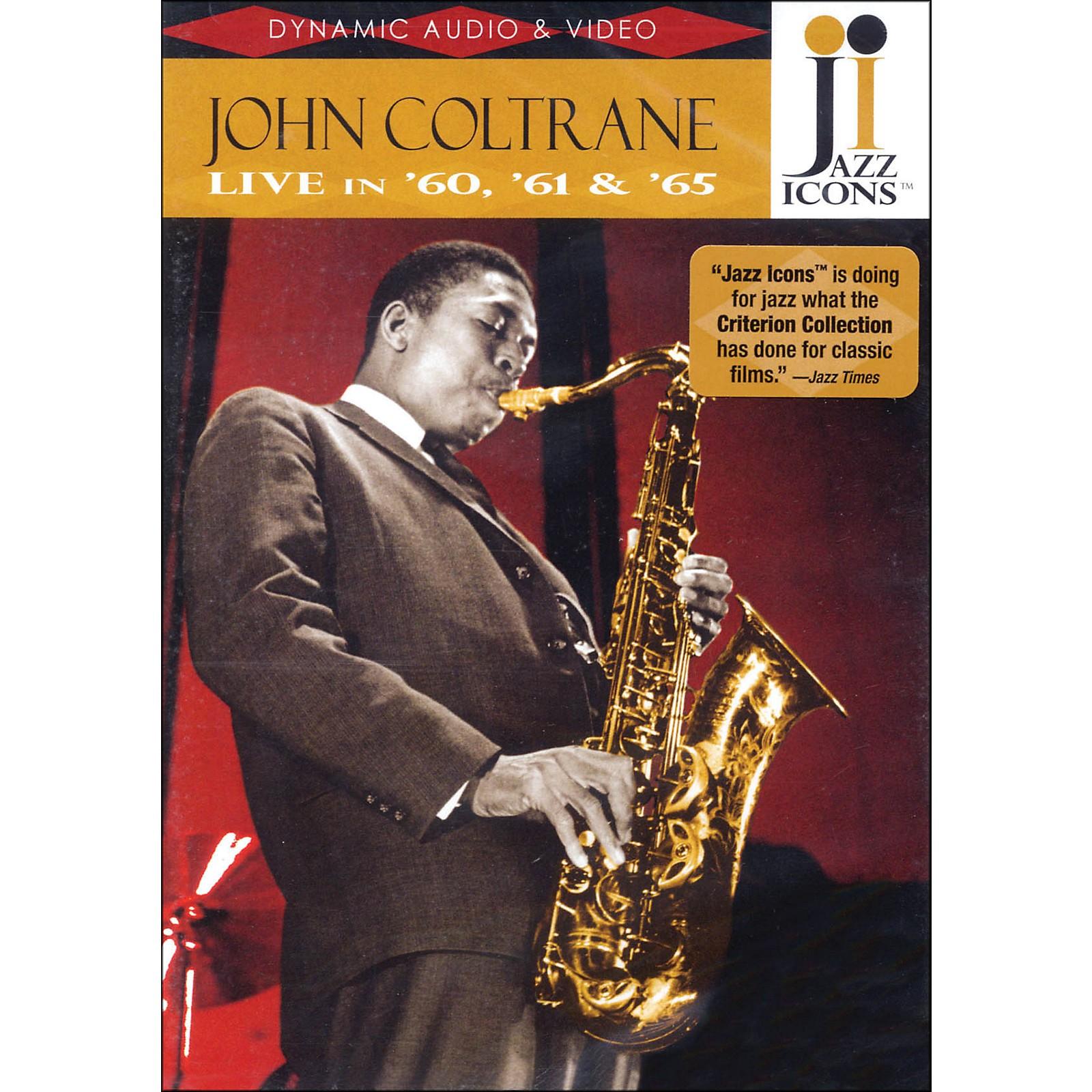 Hal Leonard John Coltrane - Live In '60, '61 And '65 - Jazz Icons DVD