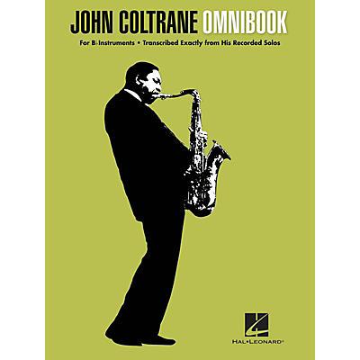 Hal Leonard John Coltrane - Omnibook (For B-flat Instruments) Jazz Transcriptions Series Softcover by John Coltrane