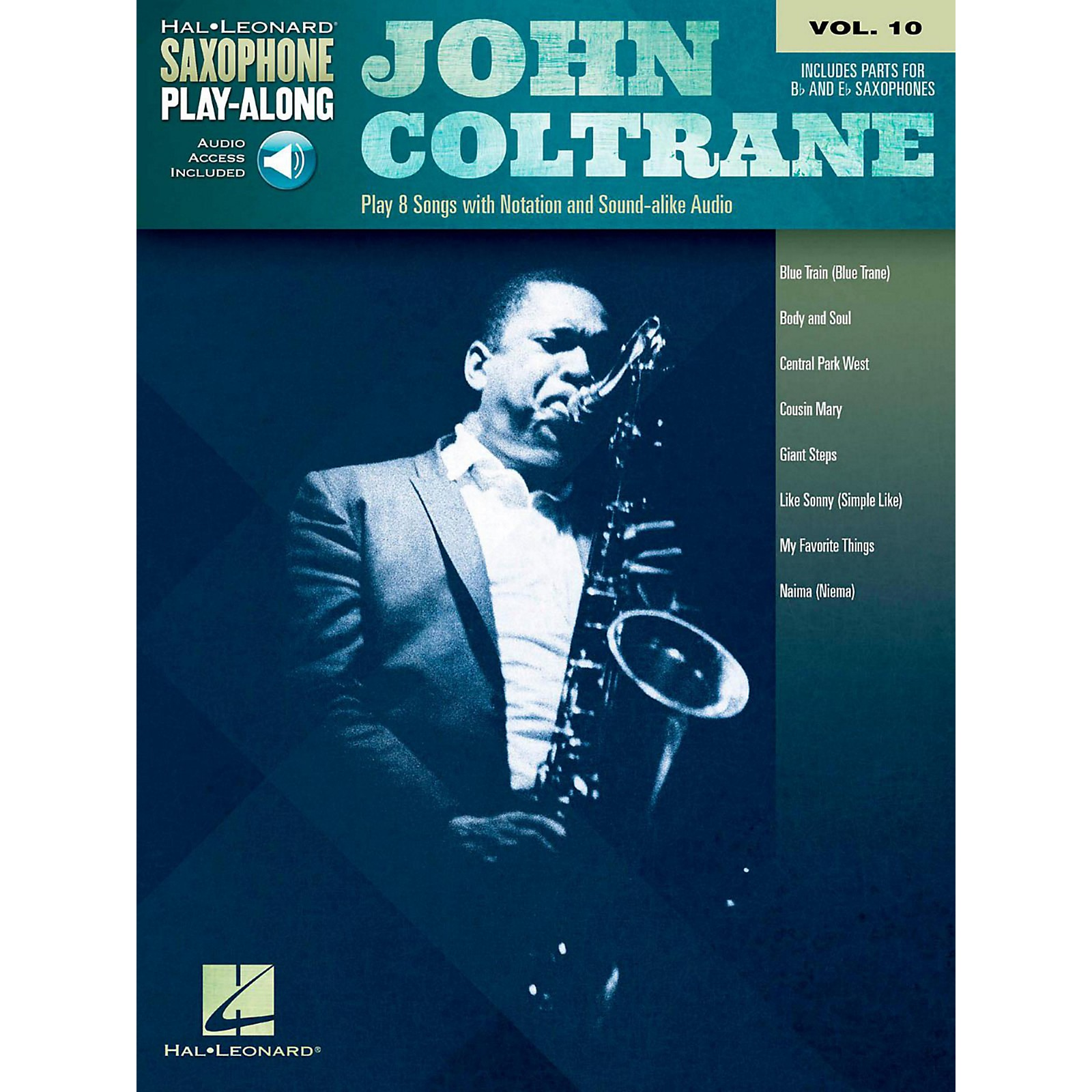 Hal Leonard John Coltrane - Saxophone Play-Along Vol. 10 (Book/Audio Online)