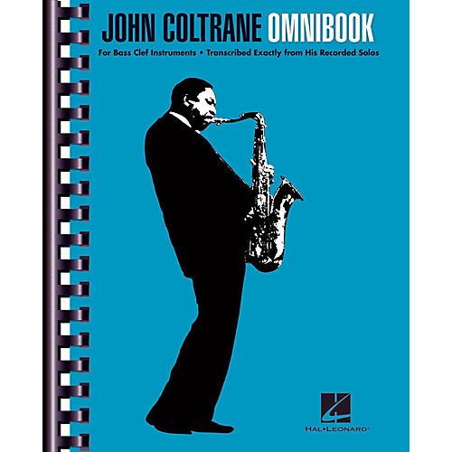 Hal Leonard John Coltrane Omnibook For Bass Clef Instruments