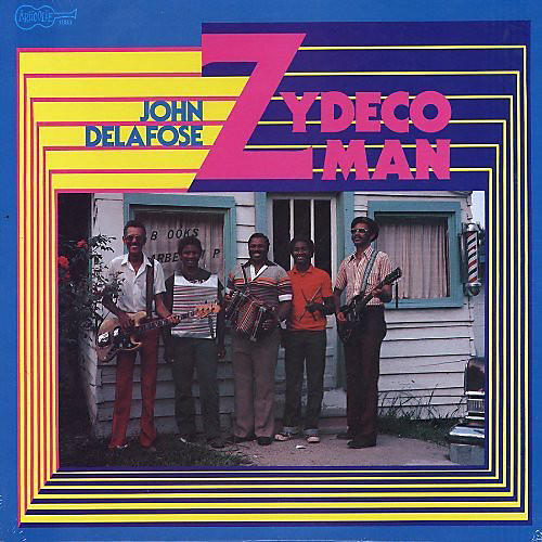 Alliance John Delafose - Zydeco Man