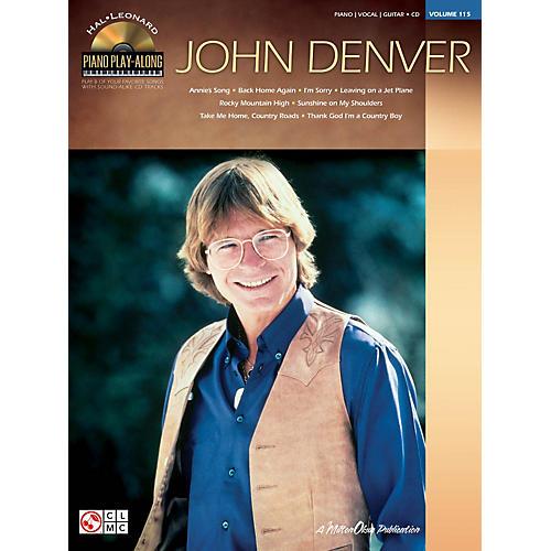 Hal Leonard John Denver - Piano Play-Along Volume 115 (Book/CD)
