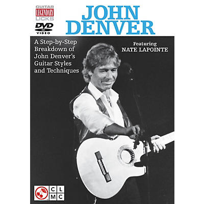 Cherry Lane John Denver Legendary Licks for Guitar DVD