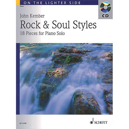 Schott John Kember - Rock and Soul Styles (18 Pieces for Piano Solo) Schott Series