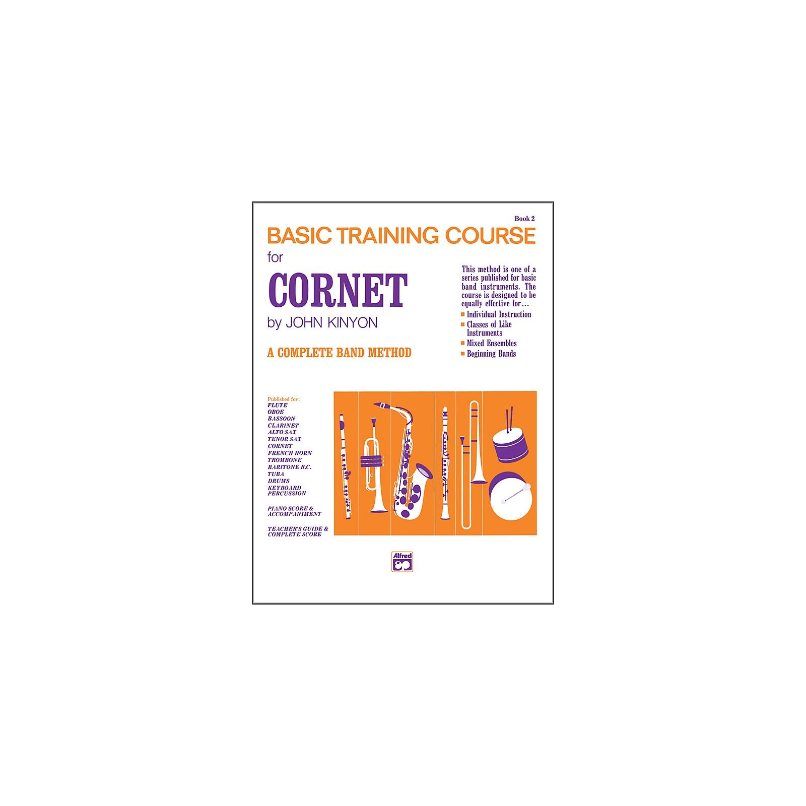 Alfred John Kinyon's Basic Training Course Book 2 Cornet