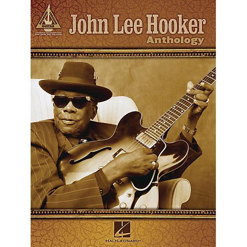 hal leonard john lee hooker anthology guitar tab songbook musician 39 s friend. Black Bedroom Furniture Sets. Home Design Ideas