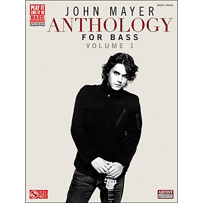 Cherry Lane John Mayer Anthology for Bass: Volume 1