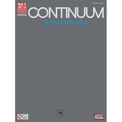Hal Leonard John Mayer Continuum Guitar Tab Songbook