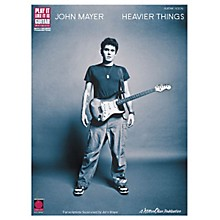Cherry Lane John Mayer Heavier Things Guitar Tab Songbook