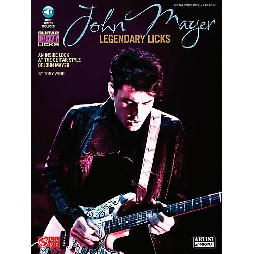 Cherry Lane John Mayer Legendary Licks Book/CD