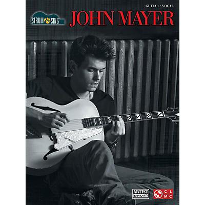 Cherry Lane John Mayer Strum & Sing Easy Guitar With Tab